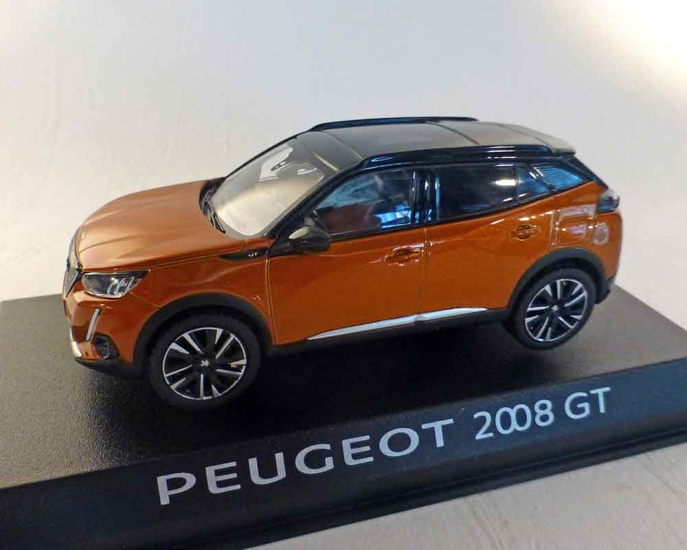Peugeot 2008 GT 2020, orange-Metallic