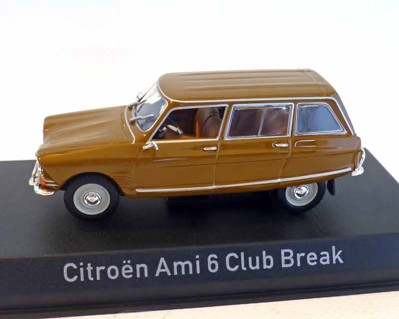 Citroen Ami 6 Break, 1968 dunkelgold