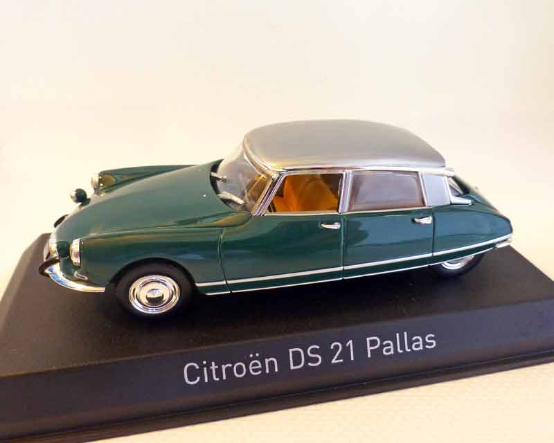 citroen 1 43 citroen ds 21 pallas gr n 1967 automodelle. Black Bedroom Furniture Sets. Home Design Ideas