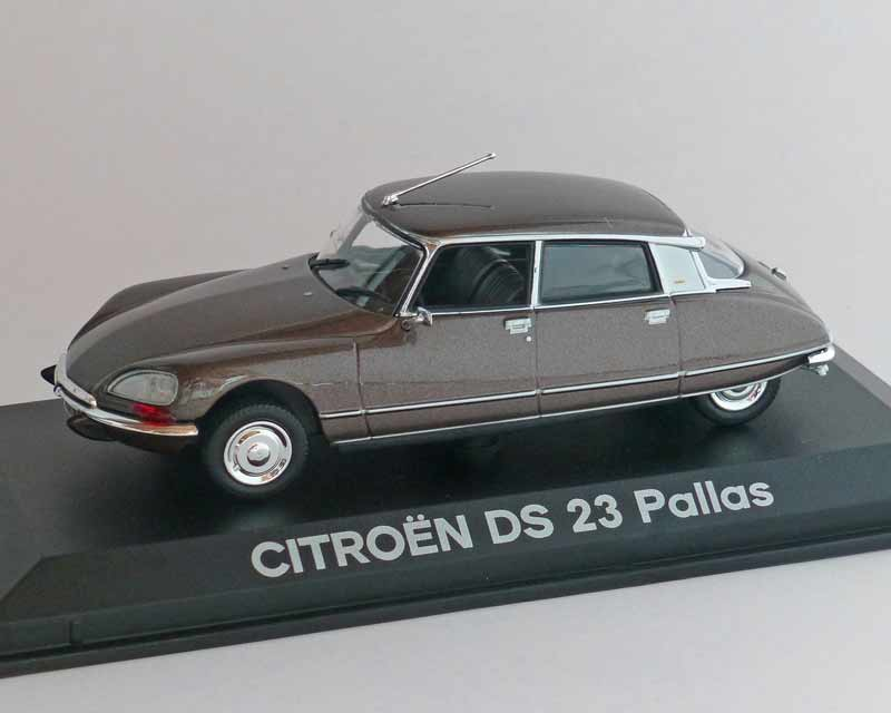 Citroen DS 23 Pallas braun-Met. 1972