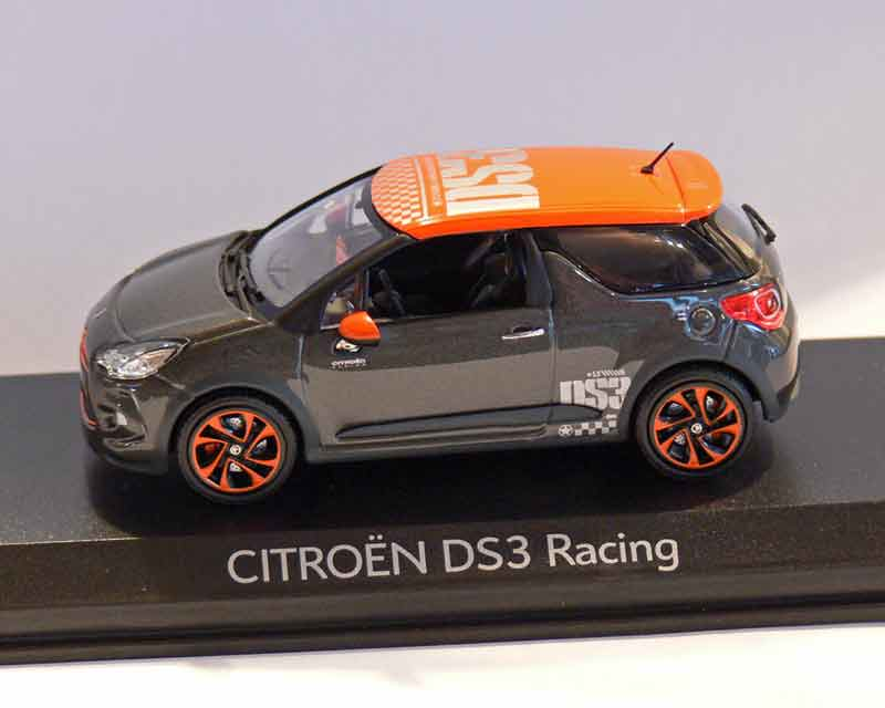 "Citroen DS 3 ""Racing\"", grau-orange 2010"