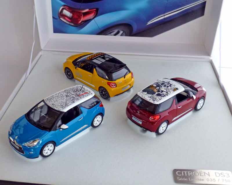 Citroen DS3-Set Roofdeco, 2010